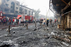 ضحايا تفجير سوق كرادة يتجاوز 250 قتيلاً حتى الآن والزيادة مستمرة