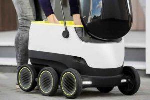 روبوتات لتوصيل الطلبات للزبائن بلندن
