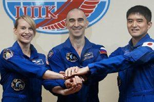 """إطلاق مركبة """"سويوز"""" إلى المحطة الفضائية الدولية"""