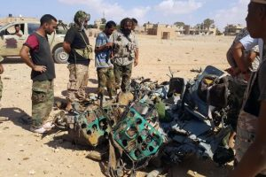 تحطم طائرة فرنسية ببنغازي الليبية و مقتل 3 جنود فرنسيين