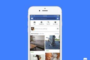 فيسبوك يفتتح سوقاً الكترونية