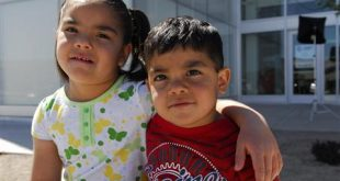 """Cecilia and Emmanuel (R), children available for adoption, are seen in this undated handout image obtained by Reuters June 4, 2011. When Diane Granito was hired to recruit foster and adoptive parents in New Mexico, she was told to review the photos of the children available for adoption. The shots were """"uniformly bad,"""" Graninto said, so she asked some the the state's most talented photographers to help capture the beauty and spirit of the state's foster children.    REUTERS/Sebastein Darteville-Courtesy Heart Gallery/Handout"""