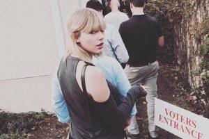 صورت المغنية الأمريكية تايلور سويفت هي الأكثر اعجابا يوم الانتخابات
