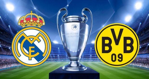 مباراة ريال مدريد وبوروسيا دورتموند اليوم