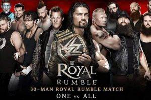 نتائج رويال رامبل 2017 اليوم الثلاثاء 30-1-2017 نتيجة نزالات Royal Rumble 2017