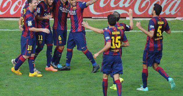 مباراة برشلونة وإيبار اليوم