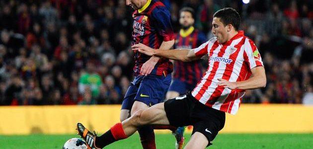 اهدافمباراة برشلونة واتلتيك بلباو اليوم والكتالوني يقسو بثلاثية على الباسكيين في إياب كأس ملك أسبانيا وملخص نتيجة اللقاء