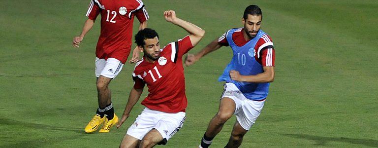 اهداف مباراة مصر واوغندا اليوم والفراعنة ينجحون في تجاوز التعادل