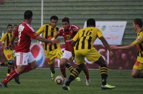 مباراة الاهلى والمقاولون العرب