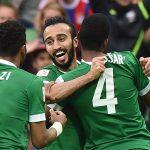 اهداف مباراة السعودية وتايلاند اليوم في تصفيات كأس العالم 2018 وملخص نتيجة اللقاء بتفوق الأخضر بثلاثية