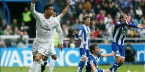مباراة ريال مدريد وديبورتيفو لاكورونا