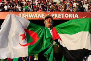 اهداف مباراة فلسطين والجزائر اليوم 11-05-2017 وملخص نتيجة لقاء الجولة الثانية من دورة ألعاب التضامن  الإسلامي