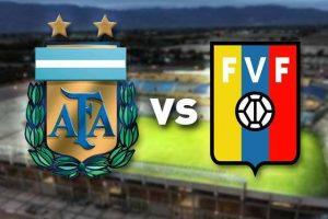 اهداف مباراة الارجنتين وفنزويلا اليوم 05-09-2017 وملخص نتيجة لقاء التانجو في تصفيات كأس العالم