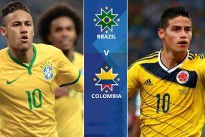 اهدافمباراة البرازيل وكولومبيا اليوم 05-09-2017وملخص نتيجة لقاء السامبا في تصفيات كأس العالم
