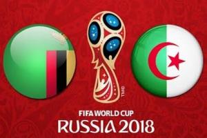 اهدافمباراة الجزائر وزامبيا اليوم 05-09-2017وملخص نتيجة لقاء محاربي الصحراء في تصفيات كأس العالم