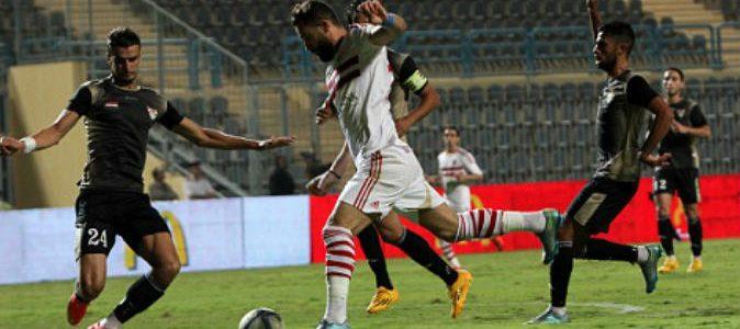 اهدافمباراة الزمالك والانتاج الحربى اليوم 09-09-2017وملخص نتيجة لقاء الدوري المصري الممتاز