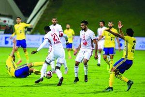 اهداف مباراة الظفرة والشارقة اليوم 21-09-2017وملخص نتيجة لقاء دوري الخليج العربي الإماراتي