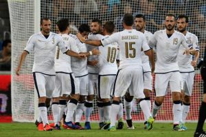 اهداف مباراة ايطاليا واسرائيل اليوم 05-09-2017وملخص نتيجة لقاء الأزوري في تصفيات كأس العالم