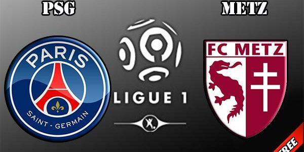 اهدافمباراة باريس سان جيرمان وميتز اليوم 08-09-2017 وملخص نتيجة النادي الباريسي في الدوري الفرنسي