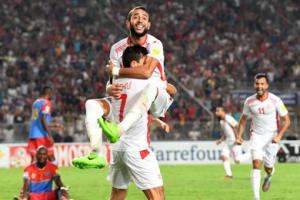 اهدافمباراة تونس والكونجو اليوم 05-09-2017 وملخص نتيجة نسور قرطاج في تصفيات كأس العالم