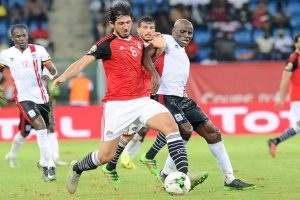 اهدافمباراة مصر واوغندا اليوم 05-09-2017وملخص نتيجة لقاء تصفيات كأس العالم لمنطقة أفريقيا