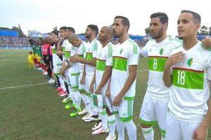 اهدافمباراة الجزائر وافريقيا الوسطى اليوم 14-11-2017وملخص نتيجةمباراة ودية لمحاربو الصحراء