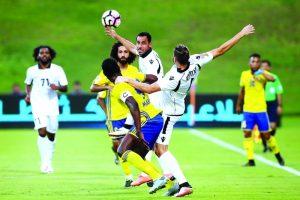 اهداف مباراة الظفرة وحتا اليوم 24-11-2017 وملخص نتيجة لقاء دوري الخليج العربي الإماراتي