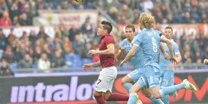 ملخص مباراة روما ولاتسيو اليوم 18-11-2017