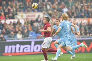 اهداف مباراة روما ولاتسيو اليوم 18-11-2017 وملخص نتيجة لقاء الدوري الايطالي