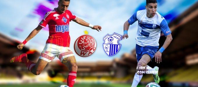 اهداف مباراة الوداد واتحاد طنجة اليوم الإثنين 18 ديسمبر كانون الأول 18-12-2017 وملخص نتيجة لقاء الدوري المغربي