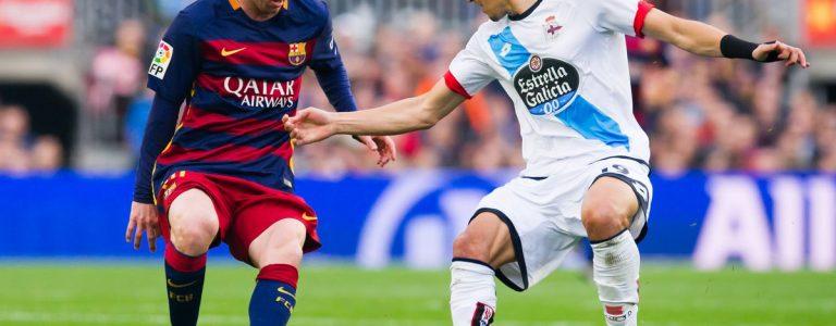 اهداف مباراة برشلونة وديبورتيفو لاكورونا اليوم الأحد 17 ديسمبر كانون 17-12-2017 وملخص نتيجة لقاء الدوري الاسباني