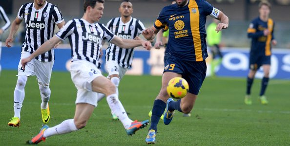 اهداف مباراة يوفنتوس وهيلاس فيرونا اليوم السبت 30 ديسمبر كانون الأول 30-12-2017 وملخص نتيجة لقاء الدوري الايطالي