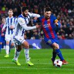 اهداف مباراة برشلونة وريال سوسيداد اليوم الاحد 14 يناير كانون الثاني وملخص نتيجة لقاء الدوري الاسباني 14-1-2018