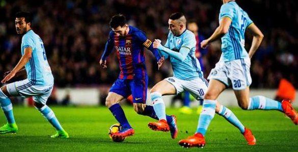 اهداف مباراة برشلونة وسيلتا فيغو اليوم الخميس 11 يناير كانون الثاني وملخص نتيجة لقاء كأس ملك أسبانيا 11-1-2018