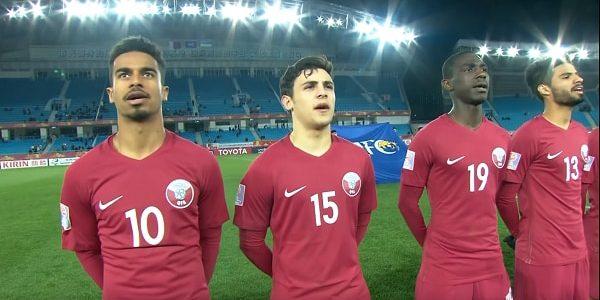 اهداف مباراة عمان وقطر اليوم الجمعة 12 يناير كانون الثاني وملخص نتيجة لقاء كأس آسيا تحت 23 سنة 12-1-2018