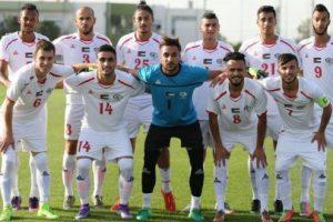 اهداف مباراة فلسطين وكوريا الشمالية اليوم السبت 13 يناير كانون الثاني وملخص نتيجة لقاء كأس آسيا تحت 23 سنة 13-1-2018