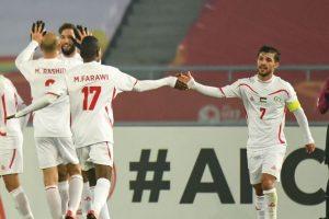 اهداف مباراة قطر وفلسطين اليوم الجمعة 19 يناير كانون الثاني وملخص نتيجة لقاء كأس آسيا تحت 23 سنة 19-1-2018