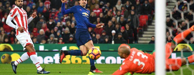 اهداف مباراة مانشستر يونايتد وستوك سيتي اليوم الاثنين 15 يناير كانون الثاني وملخص نتيجة لقاء الدوري الانجليزي 15-1-2018
