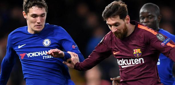 اهداف مباراة برشلونة وتشيلسي اليوم الأربعاء 14 مارس 2018 وملخص نتيجة لقاء دوري ابطال اوروبا 14-3-2018