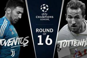 اهداف مباراة يوفنتوس وتونتهام اليوم الاربعاء 7 مارس 2018 وملخص نتيجة لقاء دوري ابطال اوروبا 7-3-2018