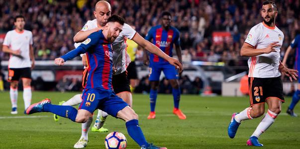 اهداف مباراة برشلونة وفالنسيا اليوم السبت 14 ابريل 2018 وملخص نتيجة لقاء الدوري الاسباني 14-4-2018
