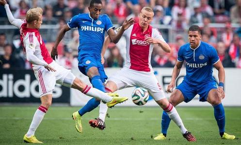 اهداف مباراة بي اس في ايندهوفن واياكس امستردام اليوم الاحد 15 ابريل 2018 وملخص نتيجة لقاء الدوري الهولندي 15-4-2018