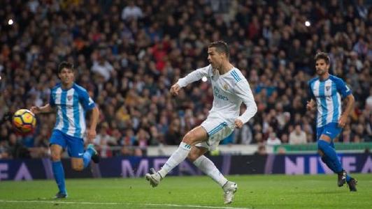 اهداف مباراة ريال مدريد وملقا اليوم الاحد 15 ابريل 2018 وملخص نتيجة لقاء الدوري الاسباني 15-4-2018