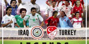 مباراة نجوم العراق ونجوم تركيا
