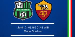 مباراة روما وساسولو