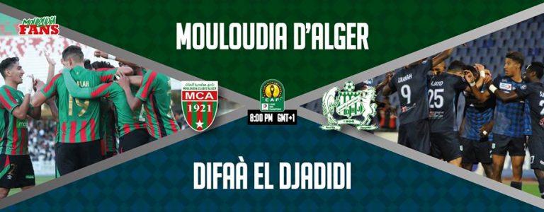 مولودية الجزائر والدفاع الجديدي بث مباشر