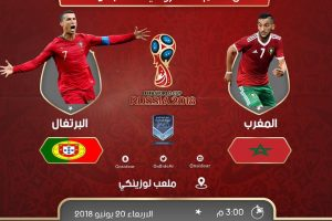 اهداف مباراة المغرب والبرتغال اليوم الاربعاء 20 يونيو 2018 وملخص نتيجة لقاء كأس العالم 20-6-2018