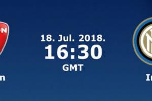 اهداف مباراة انتر ميلان وسيون اليوم الاربعاء 18 يونيو 2018 وملخص نتيجة لقاء مباراة ودية 18-7-2018