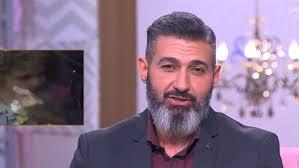 هبة عبدالغني وياسر جلال من كواليس مسلسل لمس أكتاف