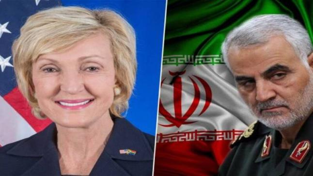 رداً على مقتل سلماني.. ايران تخطط لأغتيال سفيرة أمريكية